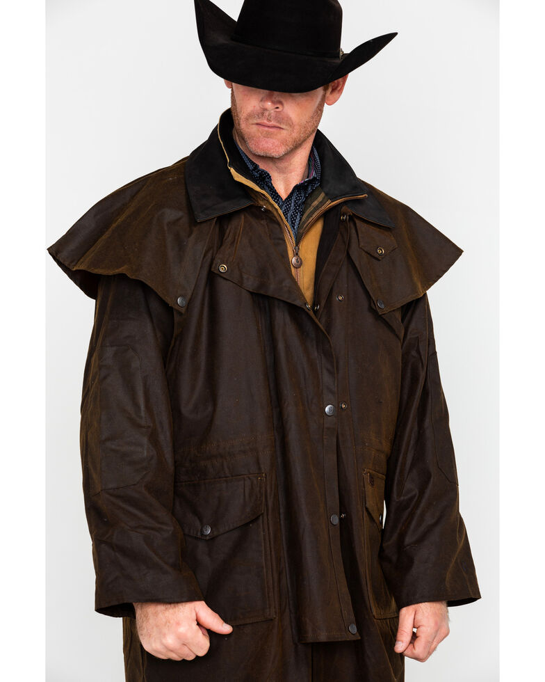 Outback Trading Co. Stockman Oilskin Duster  480c54f61f3