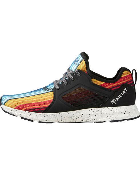 Ariat Women's Fuse Rainbow Stripe Mesh Shoes , Multi, hi-res