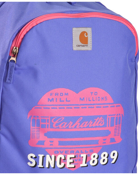 Carhartt Girls' Youth Purple & Pink Traditional Pack , Multi, hi-res