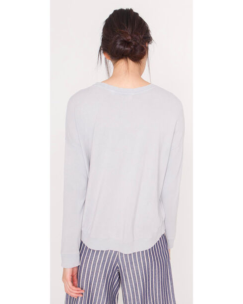 Friday's Project Women's Cropped Sweatshirt, Medium Grey, hi-res