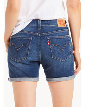 Levi's Women's Sweet Water Classic Shorts, Indigo, hi-res