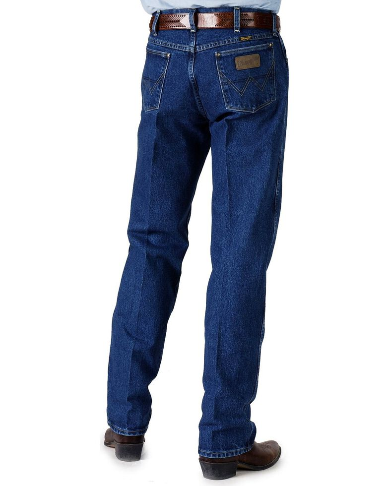 4de6aac8 Zoomed Image Wrangler Jeans - 31MWZ George Strait Relaxed Fit, Denim, hi-res