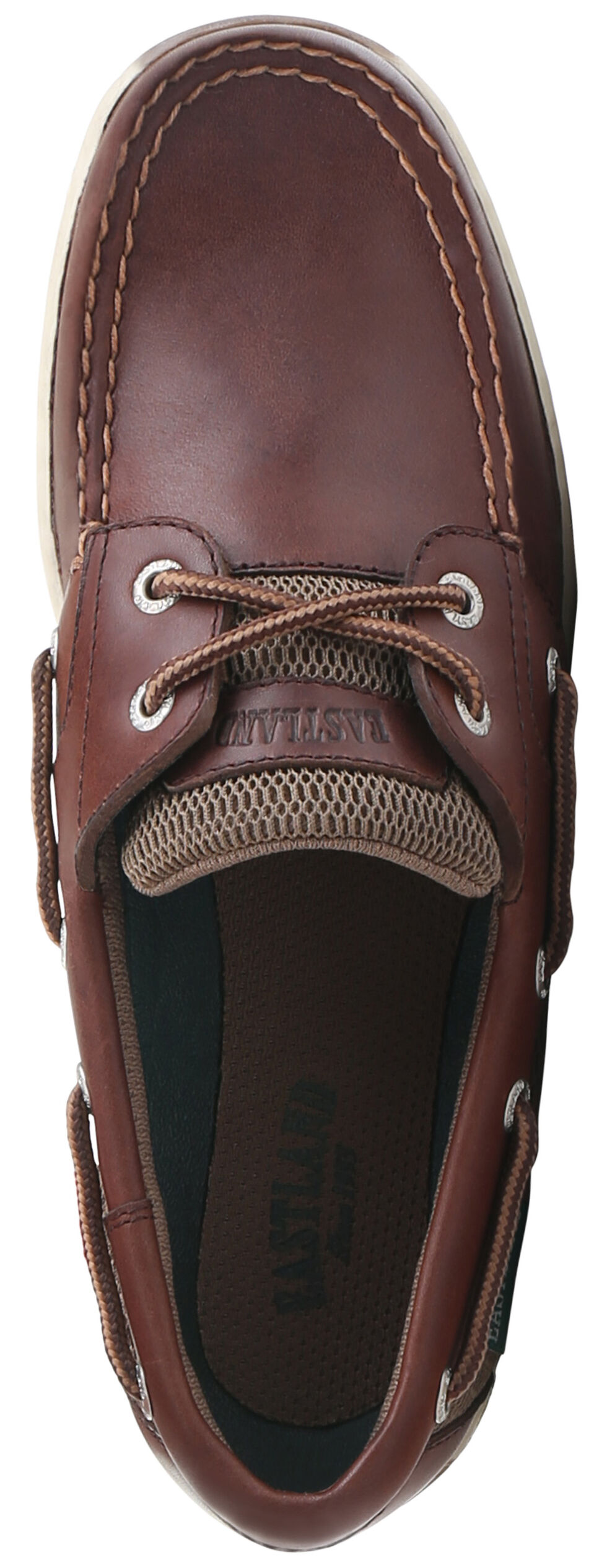 Eastland Women's Chestnut Brown Solstice Boat Shoe Oxfords  , Brown, hi-res