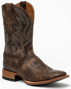 Cody James Men's Macho Sicario Western Boots - Wide Square Toe, Brown, hi-res