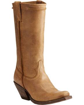 Ariat Women's Rowan Southern Tan Western Boots - Square Toe, Tan, hi-res