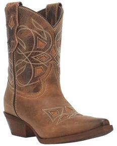 Laredo Women's Tish Western Boots - Snip Toe, Brown, hi-res