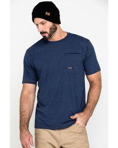 Ariat Men's Navy Rebar Workman Technician Graphic Short Sleeve Work T-Shirt , Navy, hi-res