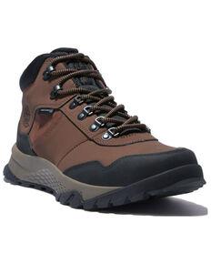 Timberland Men's Lincoln Peak Waterproof Hiking Boots - Soft Toe, Dark Brown, hi-res