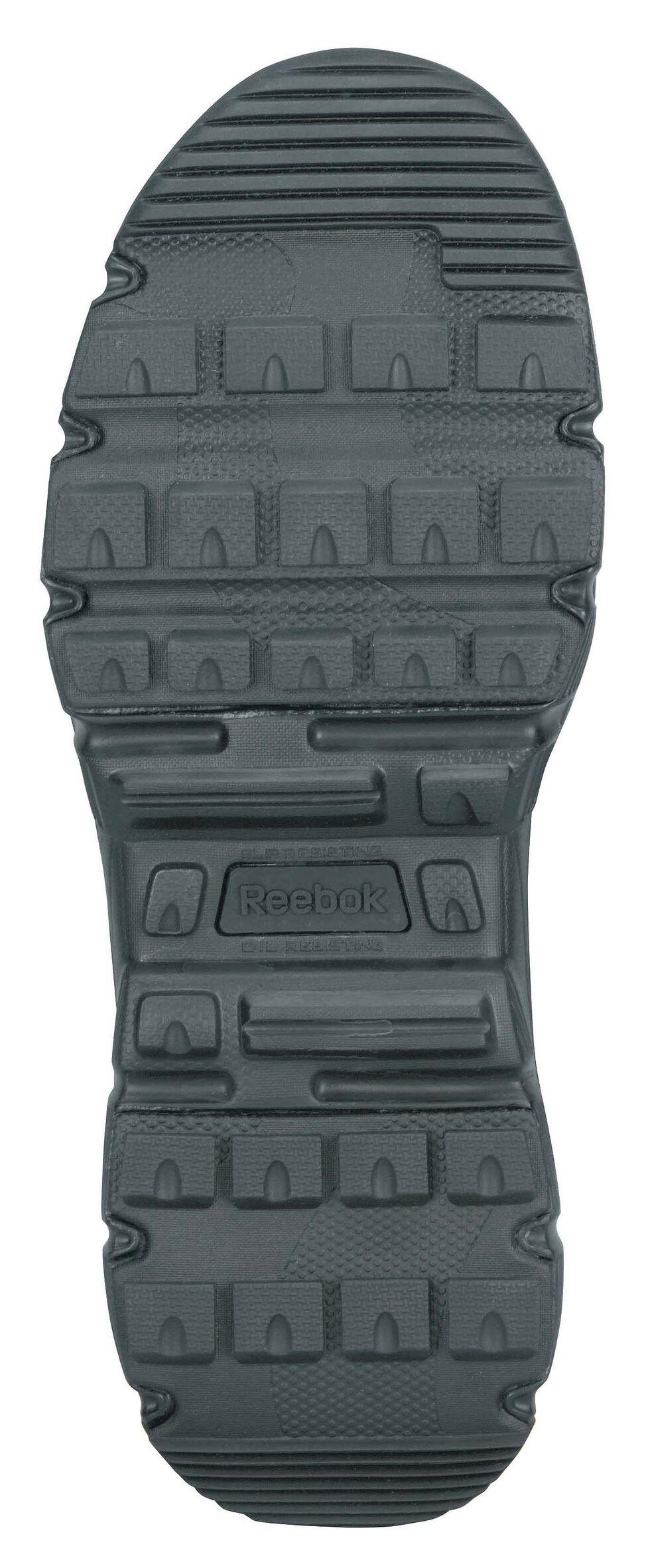 "Reebok Men's Dauntless 8"" Tactical Boots - Round Toe, Black, hi-res"