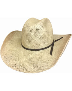 Bullhide Texas Hill 50X Jute Straw Hat , Ivory, hi-res