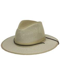 Henschel Mens Khaki Aussie Crush Breezer Sun Hat a98ae14d896a