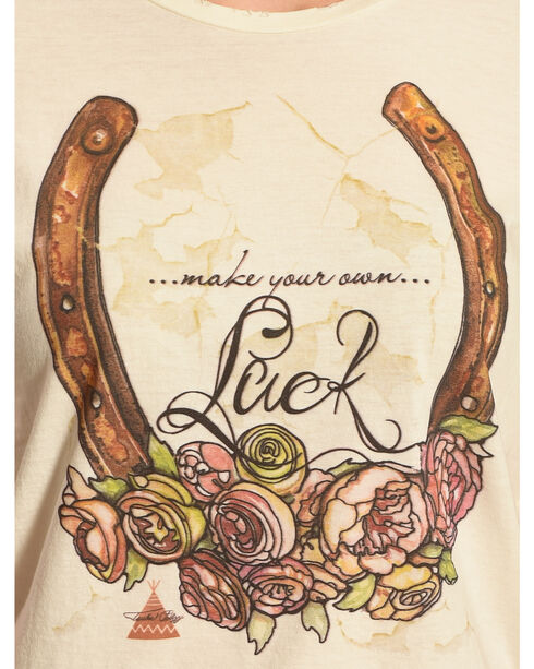 Tasha Polizzi Women's Make Your Own Luck Tee, Ivory, hi-res