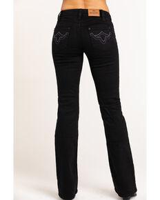 Shyanne Life Women's Black Riding Bootcut Jeans, Black, hi-res