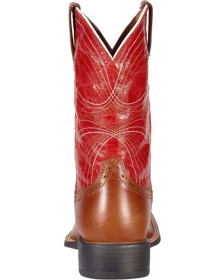 Ariat Men's Sport Cowboy Boots - Square Toe, Cedar, hi-res
