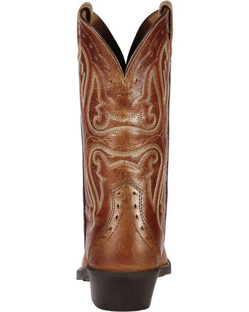 Ariat Youth Girls' Heritage Vintage Cedar Cowgirl Boots, Cedar, hi-res