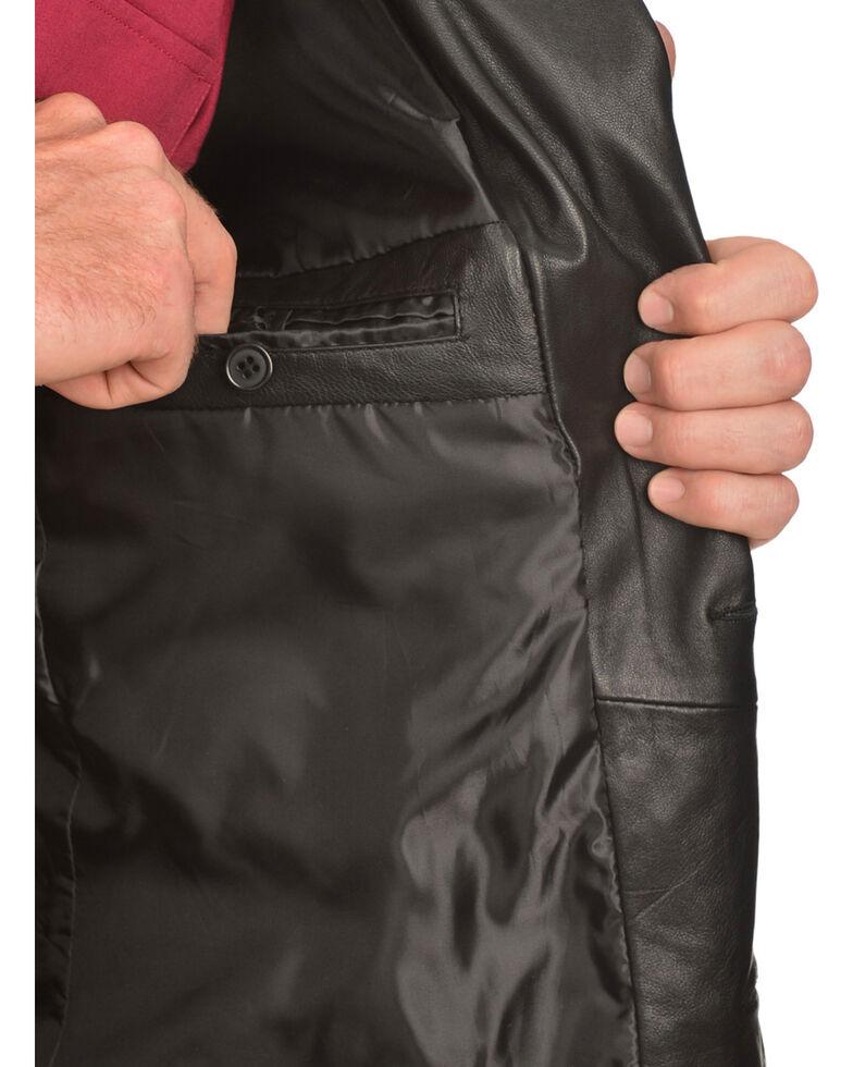 Scully Lamb Leather Blazer - Big, Black, hi-res