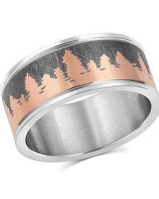 Montana Silversmiths Women's Woodland Glory Ring, Silver, hi-res