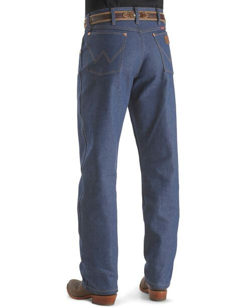 """Wrangler Jeans - 31MWZ Relaxed Fit Rigid - 38"""" Tall Inseam, Indigo, hi-res"""