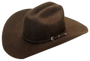 Twister Kids' Dallas Chocolate Felt Cowboy Hat, Chocolate, hi-res