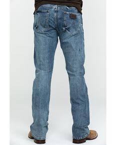 96fa94da Wrangler Mens Retro Slim Fit Boot Cut Jeans , Blue, hi-res