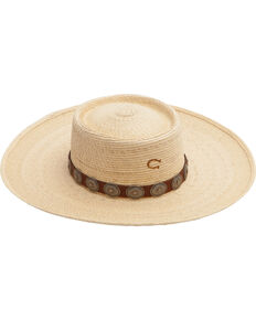 Charlie 1 Horse High Desert Straw Hat, Natural, hi-res