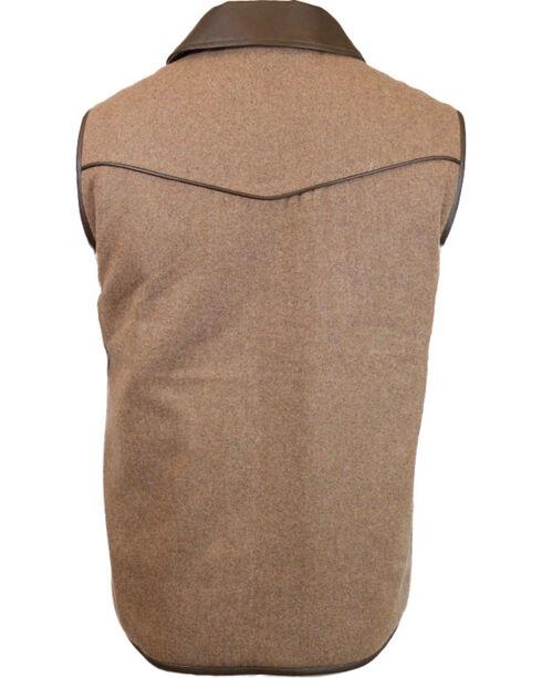 Cody James® Men's Rifleman Zip Front Vest, Oatmeal, hi-res