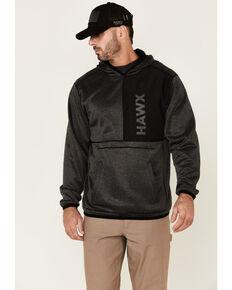 Hawx Men's Solano Reversible Thermal Fleece-Lined Hooded Work Sweatshirt , Black, hi-res