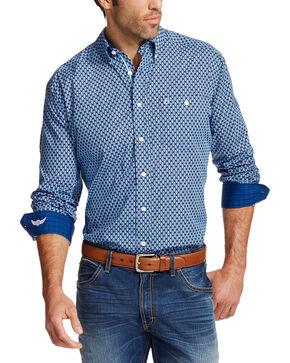 Ariat Men's Blue Prime Relentless Collection Western Shirt , Multi, hi-res