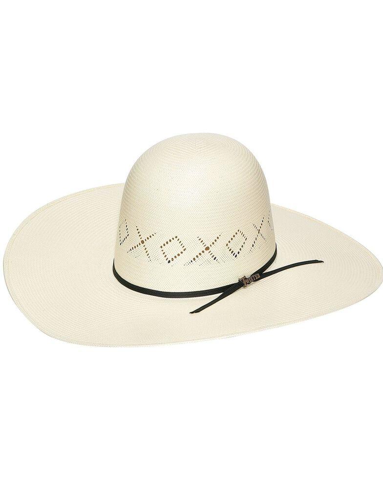 Twister 10X Shantung Straw Open Crown Cowboy Hat, Natural, hi-res