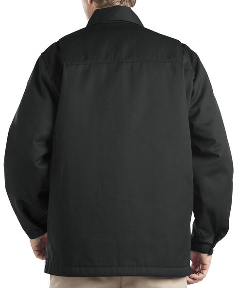 Dickies Insulated Twill Jacket, Black, hi-res