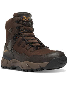 Danner Men's Vital Brown Waterproof Hiking Boots - Soft Toe, Brown, hi-res