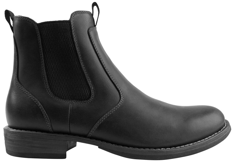 Eastland Men's Black Daily Double Jodhpur Boots , , hi-res
