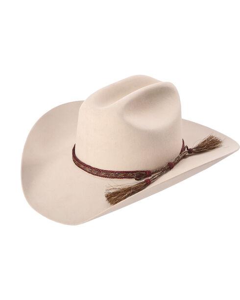 Colorado Horsehair Double Tassel Horsehair Braid Hatband , No Color, hi-res