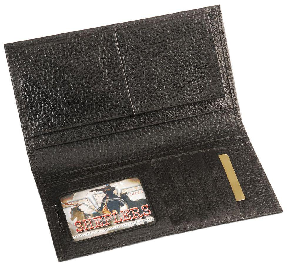 John Deere Leather Checkbook, , hi-res