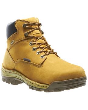 Wolverine Men's Dublin Waterproof Work Boots - Soft Toe, Wheat, hi-res