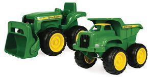 John Deere Truck & Tractor Toy Set, Green, hi-res