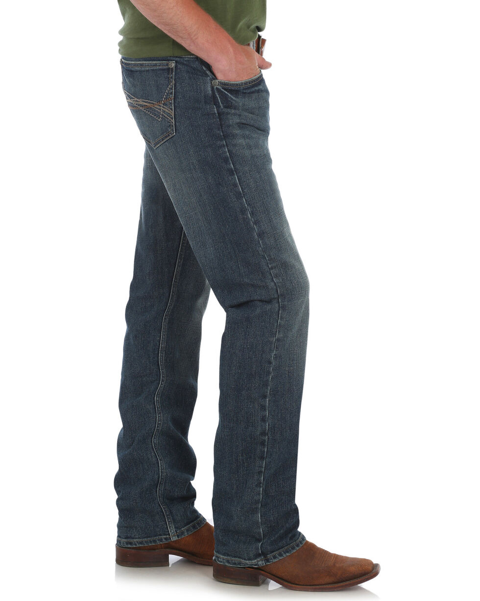 Wrangler 20X Men's 20X No. 44 Slim Fit Straight Leg Jeans, Blue, hi-res