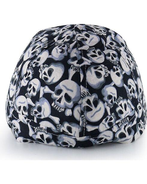 American Worker Men's Skulls Welding Cap, Multi, hi-res