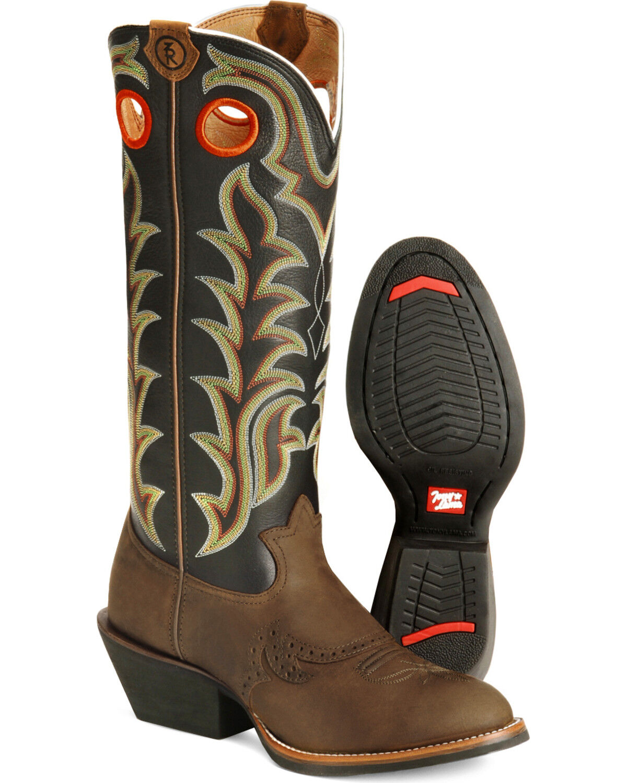 Tony Lama 3R Series Buckaroo Boots