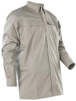 Tru-Spec Men's 24-7 Pinnacle Long Sleeve Shirt , Beige, hi-res