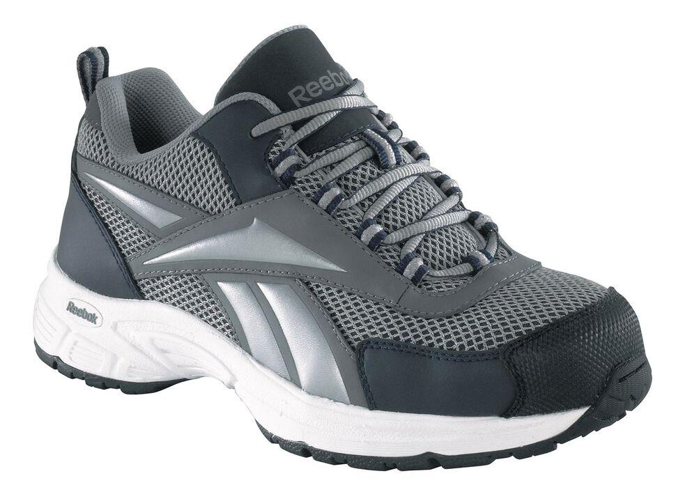Reebok Women's Kenoy Cross Trainer Shoes - Steel Toe, Grey, hi-res