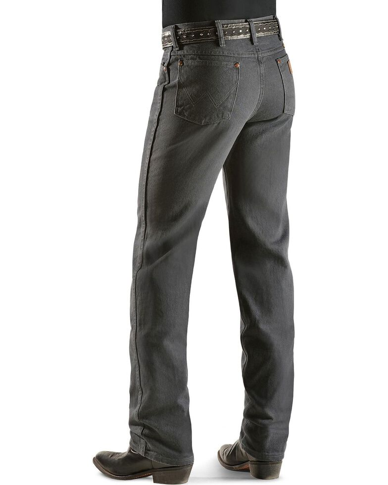 Wrangler 936 Cowboy Cut Slim Fit Jeans - Prewashed Colors, Charcoal Grey, hi-res