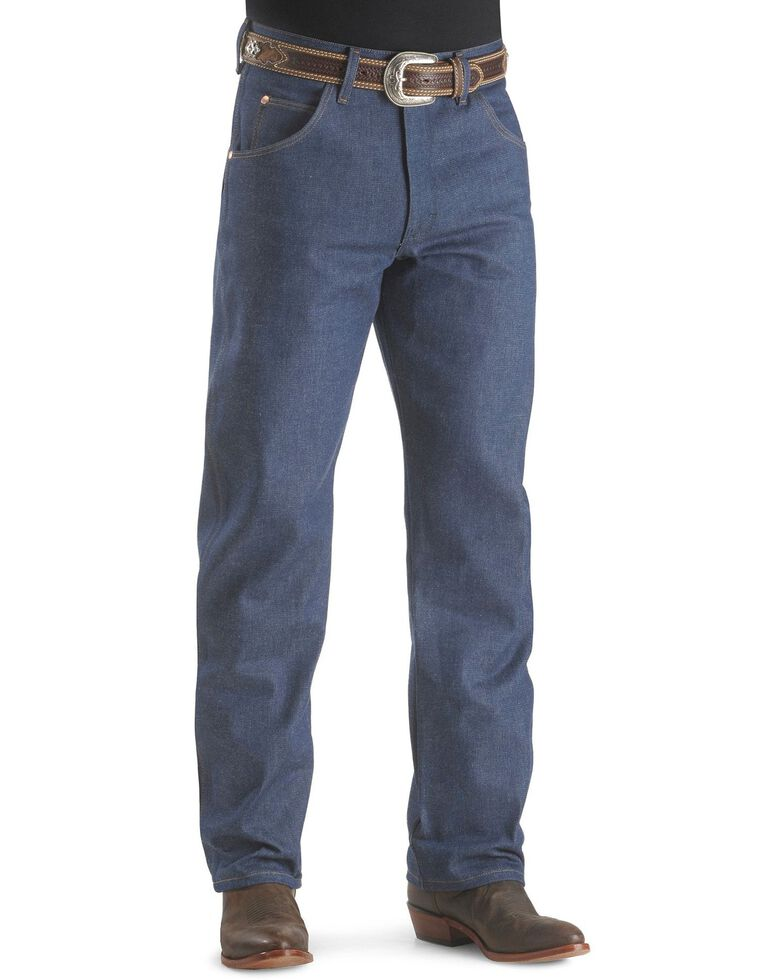 Wrangler 31MWZ Cowboy Cut Rigid Relaxed Fit Jeans, Indigo, hi-res