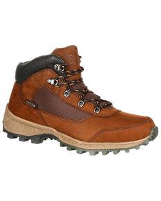 Rocky Men's Stratum Waterproof Outdoor Shoes - Round Toe, Brown, hi-res