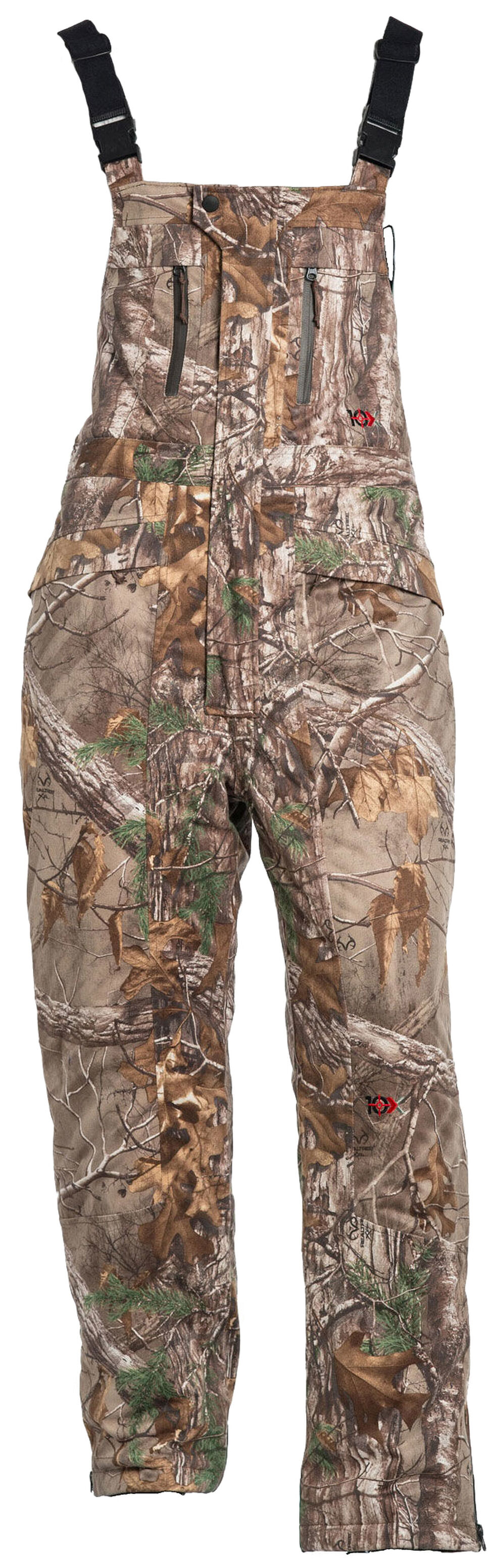 10X Realtree Xtra Silent Quest Insulated Scentrex Bib, Camouflage, hi-res