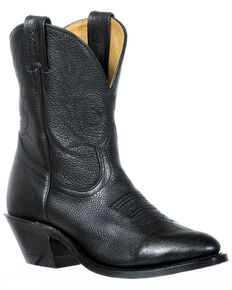 Boulet Women's Round Toe Booties, Black, hi-res