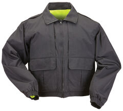 5.11 Tactical Reversible High-Visibility Duty Jacket, Black, hi-res