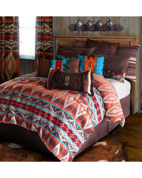 Carstens Mojave Sunset Twin Bedding - 4 Piece Set, Orange, hi-res