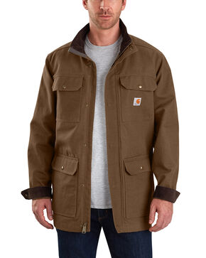 Carhartt Men's Field Coat - Tall, Chocolate, hi-res