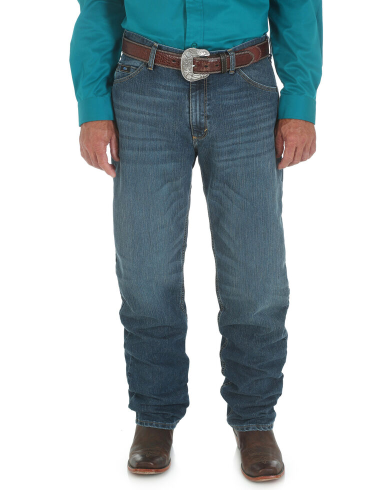 536ea9ba Zoomed Image Wrangler Men's 20X Cool Vantage 01 Competition Relaxed Fit  Jeans - Tall, Denim, hi